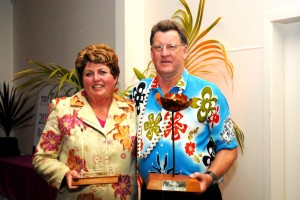 Brian and Rosemary Archibald win Tall Poppy Supreme Business Award